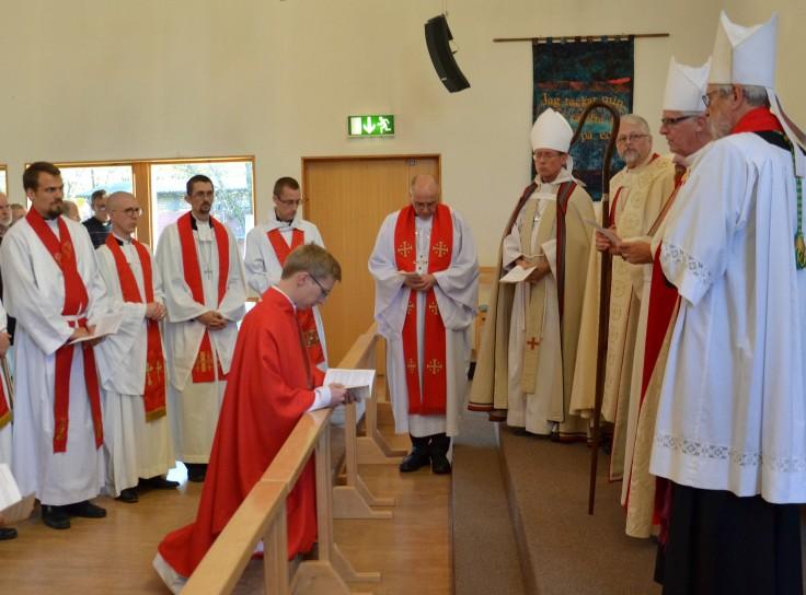 Sveinung Eriksen ordinert i Göteborg